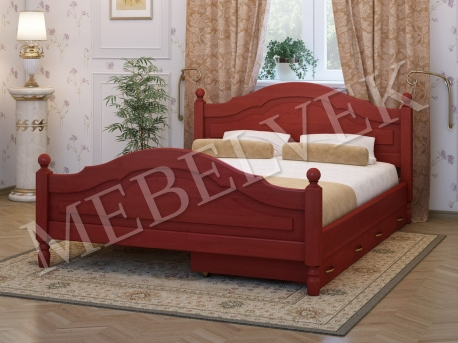 Односпальная кровать Аврора c 2 ящиками