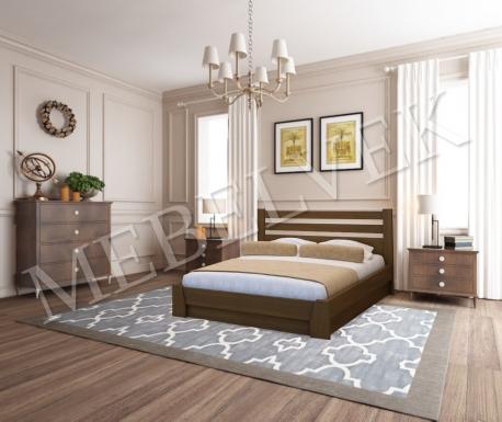 Полутороспальная кровать Брага