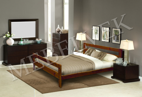 Двуспальная кровать  Дафна