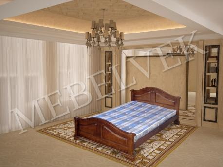 Полутороспальная кровать Гефест-1