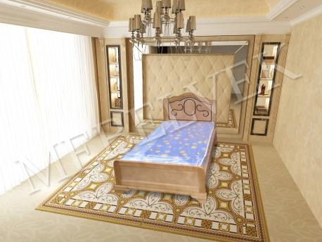 Полутороспальная кровать Гелиос