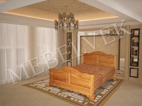 Двуспальная кровать Гермес