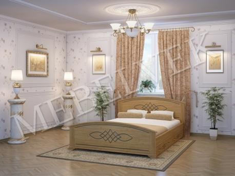 Односпальная кровать Иллирия с 2 ящиками