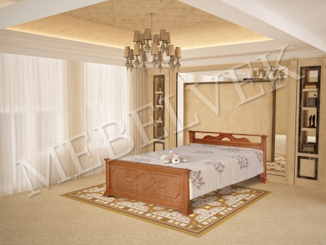 Двуспальная кровать Ирис