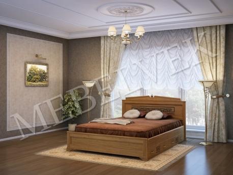 Кровать Италия с 2 ящиками