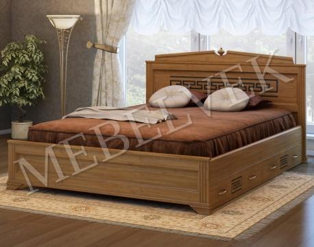 Двуспальная кровать Италия с 2 ящиками