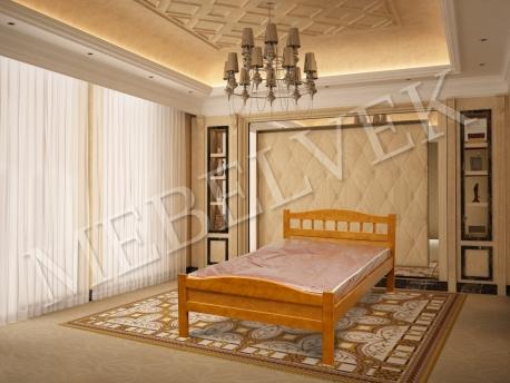Полутороспальная кровать Калипсо