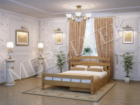 Односпальная кровать Киото c 2 ящиками