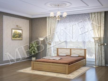Односпальная кровать Лоди с 2 ящиками