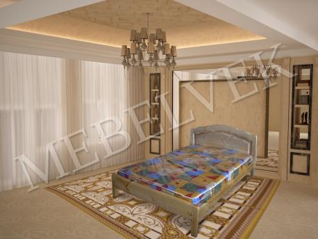 Односпальная кровать Марсель