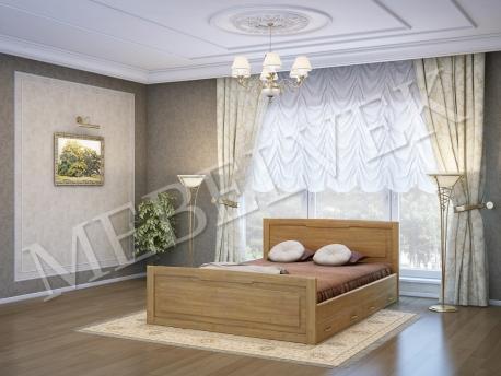 Односпальная кровать Милан с 2 ящиками