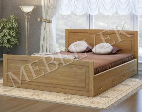 Двуспальная кровать Милан с 2 ящиками