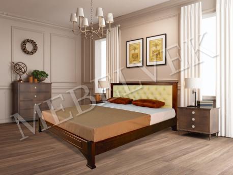 Кровать Мурсия Цвет: Грецкий орех 2 Размер: 140x200 с 2 малыми ящиками Распродажа