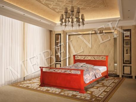 Орион кровать с ковкой