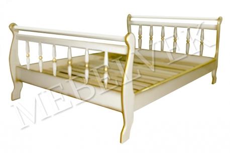 Полутороспальная кровать Орион точёная