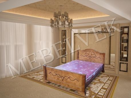 Двуспальная кровать Римини