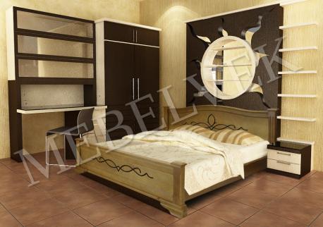 Полутороспальная кровать Рондо