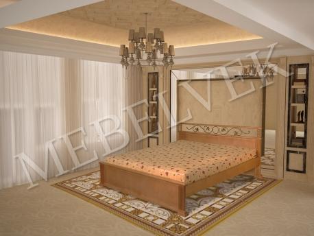 Рондо кровать с ковкой
