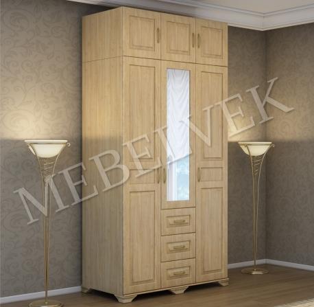 Деревянный шкаф Витязь-247