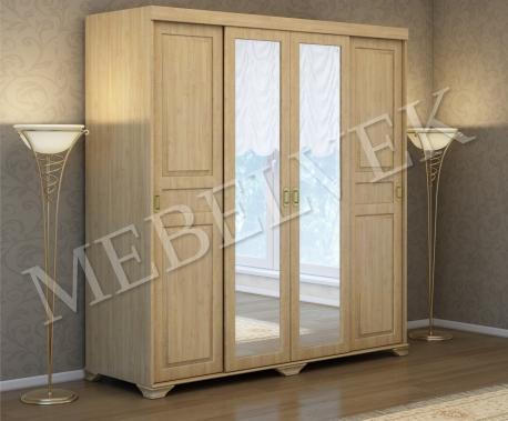 Деревянный шкаф Витязь-242 Купе