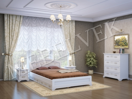 Спальный комплект Валенсия с ящиками