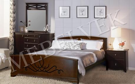 Полутороспальная кровать Венера