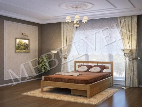 Односпальная кровать Веста c 2 ящиками
