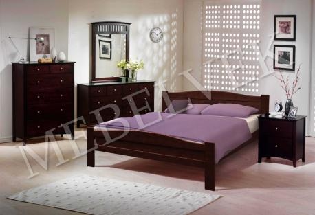 Полутороспальная кровать  Виардо