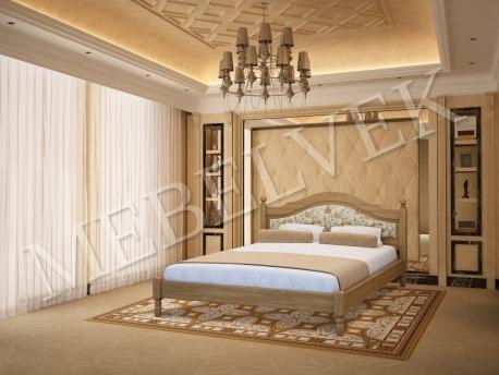 Полутороспальная кровать  Виктория
