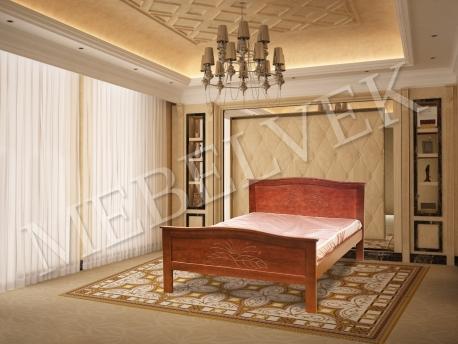 Полутороспальная кровать Юнона