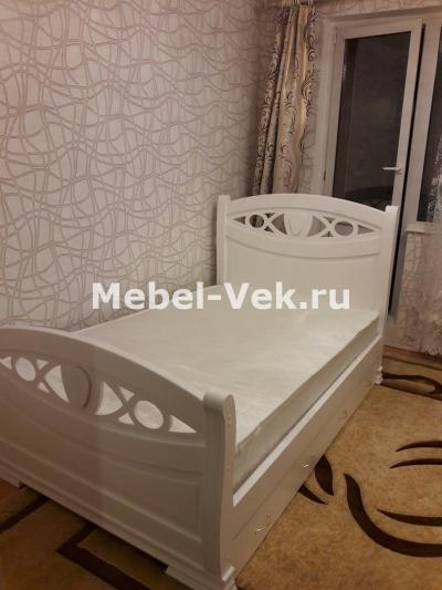 Кровать Анталия Белая