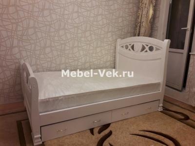Кровать Анталия цвет Белый