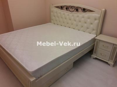 Кровать Даллас Слоновая кость