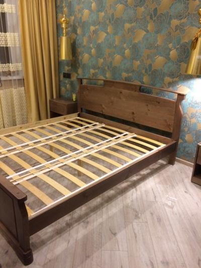 Двуспальная кровать Акра Венге 2