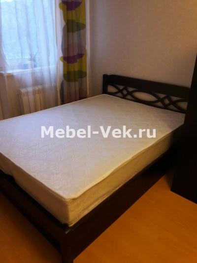 Двуспальная кровать Альмерия с подьемным механизмом венге 3