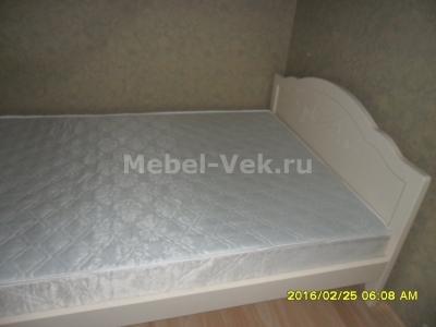 Двуспальная кровать Авола Слоновая кость