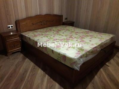 Двуспальная кровать Будапешт цвет кл.орех 2