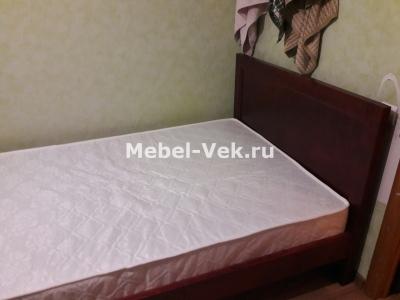 Двуспальная кровать Глазко могано 3