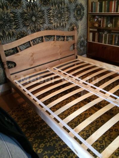 Двуспальная кровать Киото  Венге 1-2