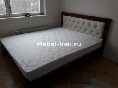 Двуспальная кровать Мурсия Классический орех 3