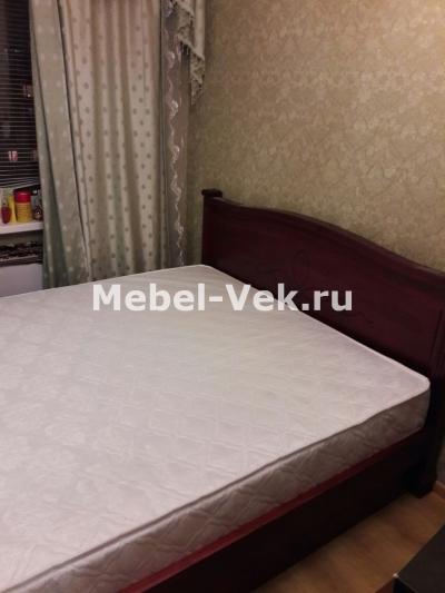 Двуспальная кровать Рондо могано 3