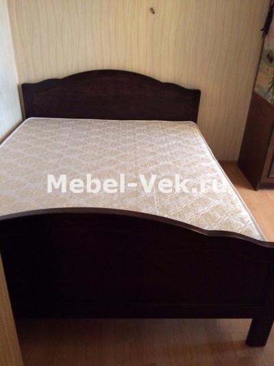 Двуспальная кровать Торино без рисунка Венге 3