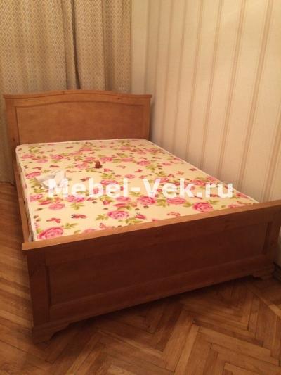 Двуспальная кровать Валенсия классический орех 2