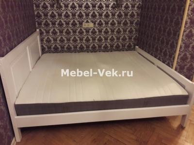 Двуспальная кровать Варна Цвет белый