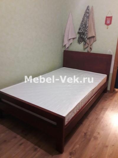 Кровать Глазко цвет могано 3