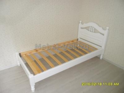 Кровать Алушта белый