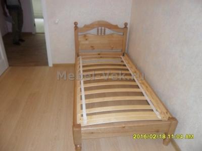 Кровать Алушта Венге 1-2