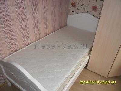Кровать Авола белый