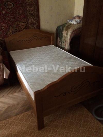 Кровать Авола Классический орех 2