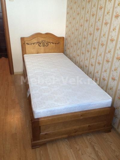 Кровать Будапешт Классический орех 2